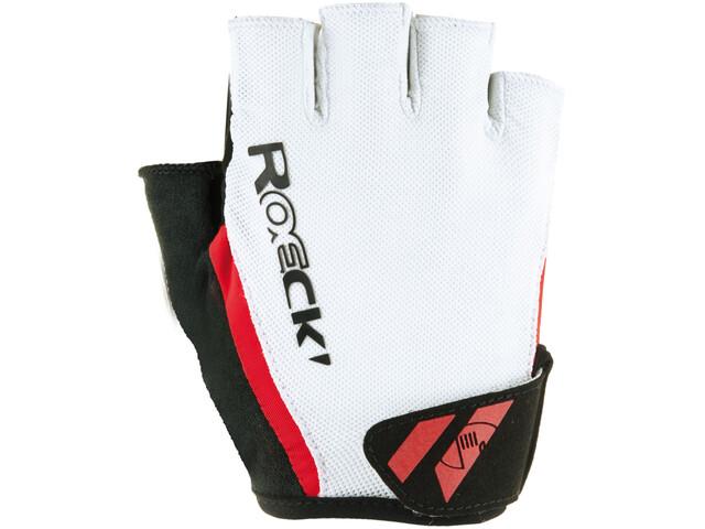 Roeckl Ilio Handschuhe weiß/rot